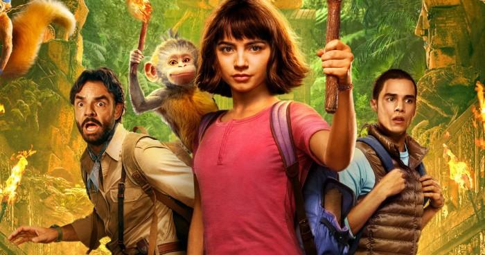 Babouche et Chipeur dans la bande-annonce finale — Dora le film